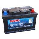Autobaterie Akuma Komfort 12V 55Ah 480A