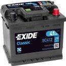 Exide Classic 12V 41Ah 370A