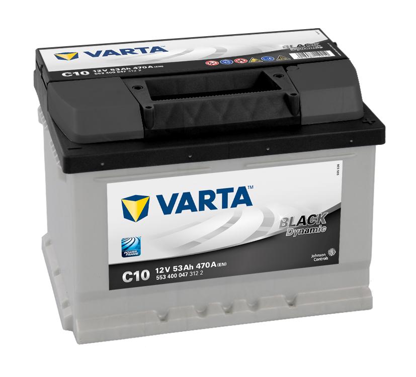 Varta Black dynamic 53 Ah 500 A